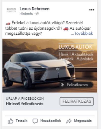 Effectivo Communications Facebook lead generation ad